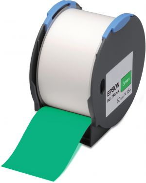 Tape - rc-t5gna 50mm green EPSON - LABELWORKS SUPPLIES S6 C53S634006 8715946515236 C53S634006_EPSS634006 by No