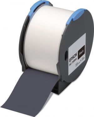 Tape - rc-t5bna 50mm black EPSON - LABELWORKS SUPPLIES S6 C53S634007 8715946515243 C53S634007_EPSS634007 by No