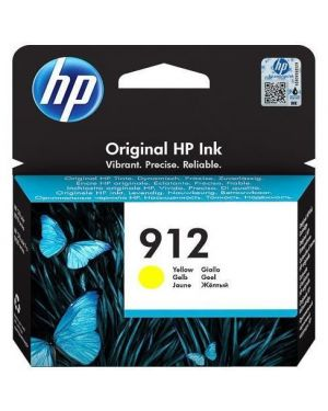 Hp 912 yellow original ink blister HP Inc 3YL79AE#301 192545866804 3YL79AE#301
