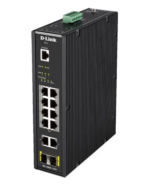 12 port l2 industrial smart D-Link DIS-200G-12PS 790069433504 DIS-200G-12PS