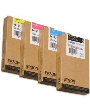 Tanica inchiostro giallo  220ml Epson C13T612400 10343865877 C13T612400_EPST612400 by Epson
