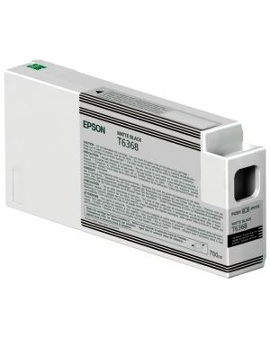 Tanica inc. nero matte 700 ml Epson C13T636800 10343870888 C13T636800_EPST636800 by Epson