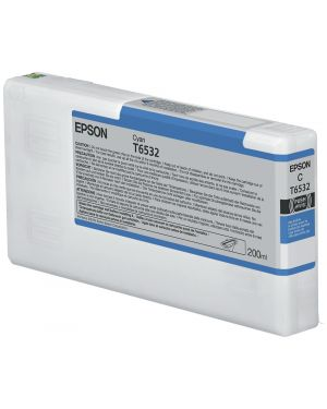 Tanica inc. ciano   200ml Epson C13T653200 10343877627 C13T653200_EPST653200 by Epson