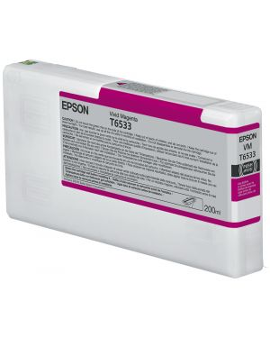 Tanica inc. vivid magenta 200ml Epson C13T653300 10343877634 C13T653300_EPST653300 by Epson