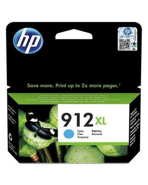 Hp 912xl high yield cyan  blister HP Inc 3YL81AE#301 192545866880 3YL81AE#301