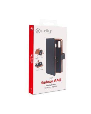 Wally case galaxy a40 black Celly WALLY833 8021735750307 WALLY833