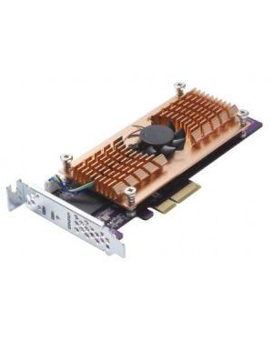 Dual m.2 pcie ssd expansion card Qnap QM2-2P-344 4713213512999 QM2-2P-344