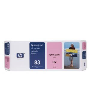 Cartuccia a getto d'inchiostro uv hp n.83 magenta chiaro 680ml C4945A 25184252793 C4945A_HPC4945A