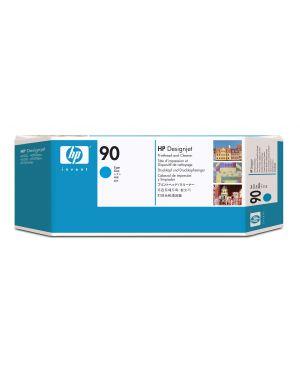 Testina di stampa e dispositivo di pulizia per testina di stamapa hp n.90 ciano C5055A 829160222561 C5055A_HPC5055A