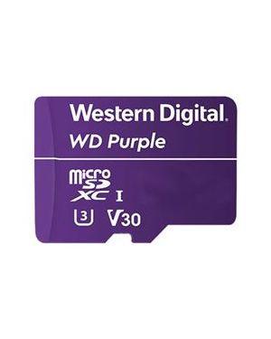 Microsd wd purple 128gb classe 10 Western Digital WDD128G1P0A 718037864532 WDD128G1P0A
