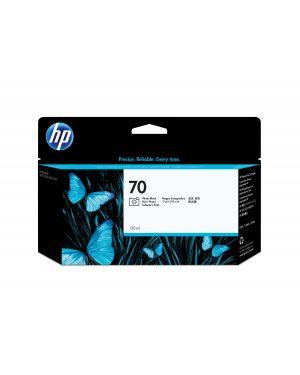 Cartuccia d'inchiostro fotografico hp 70 nero con inchiostro hp vivera C9449A 882780528666 C9449A_HPC9449A
