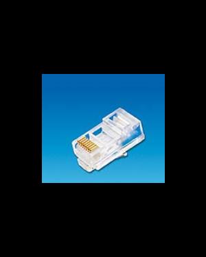 Plug rj45u cat.6 cavo solido cf50 Cis PLGC605  PLGC605-1