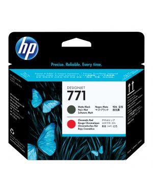 Testina di stampa designjet hp 771 nero matte  -  red cromatic CE017A 884962986431 CE017A_HPCE017A