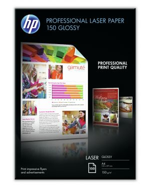 Risma 150 fg hp professionale glossy paper 150g -  m2 a4 laser CG965A 884962310632 CG965A_HPCG965A by No