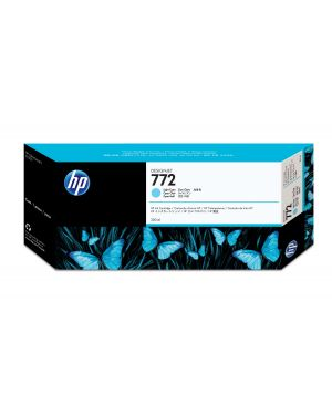 Cartuccia d'inchiostro designjet hp 772 da 300 ml ciano chiaro CN632A 884962639023 CN632A_HPCN632A