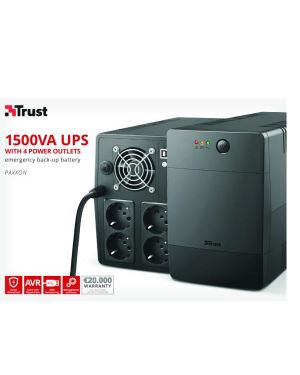 Paxxon 1500va management ups Trust 23505 8713439235050 23505