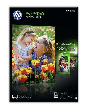 Paper 200g semi glossy HP - INKJET SUPPLY NON CENTRAL (1N) Q5451A 829160102795 Q5451A_HPQ5451A by No