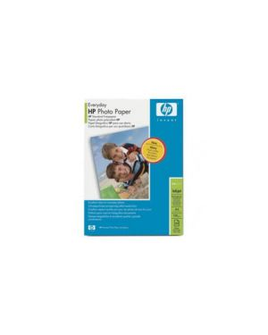Risma 25 fg carta fotogr. Hp everyday photo paper semi lucida a4 200gr Q5451A_HPQ5451A