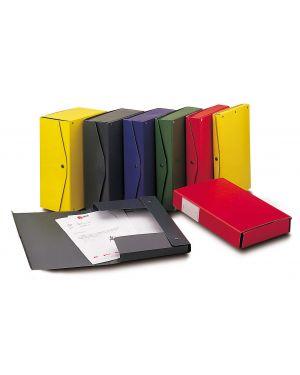 Scatola archivio project 8 grigio scuro 25x35cm dorso 8cm king mec 23708 8004389030421 23708