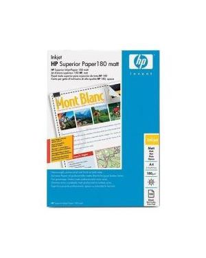 Cartasuperior inkjet opaca a4 100fg HP Inc Q6592A 829160385426 Q6592A_HPQ6592A by Esselte