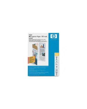 Risma 100 fg carta inkjet di qualita' superiore opaca a4 180g Q6592A_HPQ6592A by Esselte