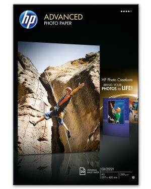 Hp adv glossy photo paper 250g HP - INKJET MEDIA (AU) Q8697A 882780349650 Q8697A_HPQ8697A