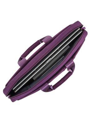 Borsa porta notebook 15.6 porpora Rivacase 8335PR 4260403570821 8335PR