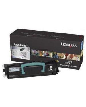 Toner e250 e350 e352 rp  3.5k Lexmark E250A31E 734646258357 E250A31E