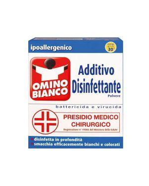 Additivo disinfettante deo+ 450gr per tessuti omino bianco M92341 8004060010759 M92341