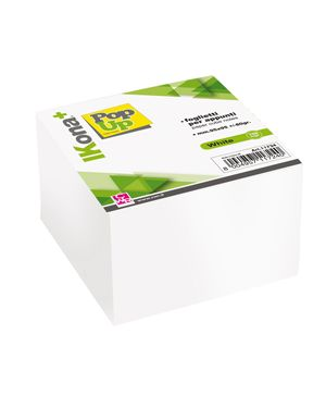 Cubo foglietti carta bianca 700fg 9,5x9,5cm cwr 11724 8004957117240 11724