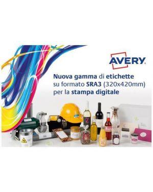 Etichette sra3 320x450mm 100ff Avery PCL3-MCG 5037684031278 PCL3-MCG