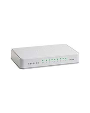 Switch fast ethernet 8 ports NETGEAR - RETAIL FS208-100PES 606449090253 FS208-100PES_NTGRFS208 by Netgear - Retail