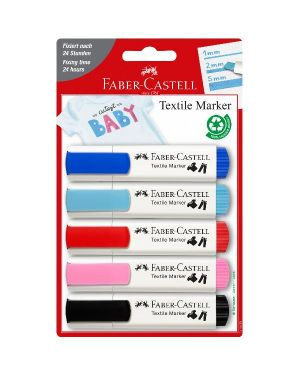 marker textile - baby party Faber Castell 159530 4005401595304 159530