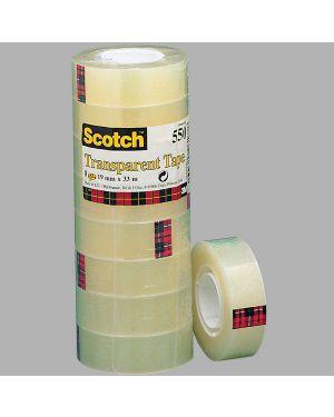 Torre 8 rt nastro adesivo scotch® 550 19mmx33m in ppl 7100029315 3134375261678 7100029315