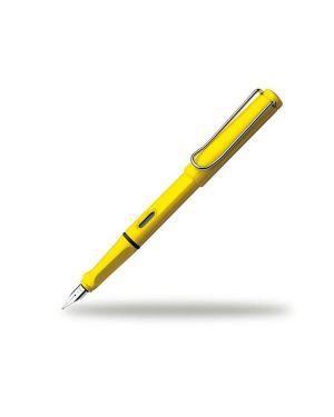 Safari yellow stilografica m Lamy 1208112 4014519081128 1208112
