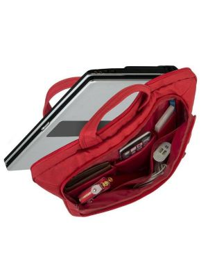 Red laptop canvas bag 15.6 Rivacase 7530RD 4260403570456 7530RD