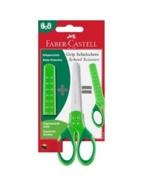 Blister forbice grip verde Faber Castell 181552* 4005401815525 181552*