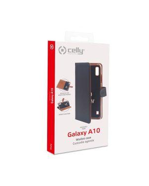 Wally case galaxy a10 black Celly WALLY839 8021735750796 WALLY839