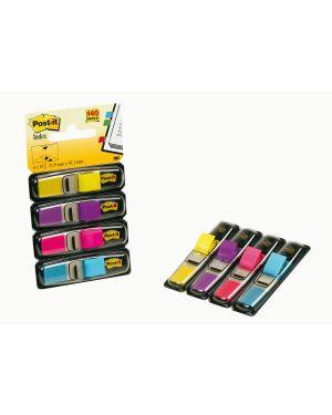 Miniset 140 segnapagina post-it® index 683-4ab in 4 colori vivaci 28625. 21200508776 28625.