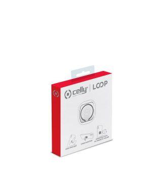Universal ring silver Celly LOOPSV 8021735745679 LOOPSV
