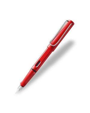 Safari red stilografica 016 f Lamy 1205251 4014519052517 1205251