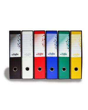 Registratore kingbox f.to protocollo dorso 8cm blu starline RXP8BL 8025133025630 RXP8BL_STL4018