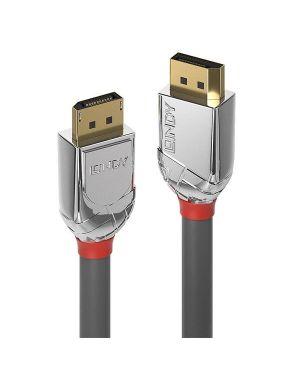 Cavo displayport 1.4 cromo line  2m Lindy 36302 4002888363020 36302