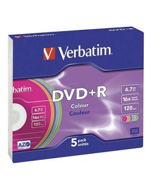 Dvd+r 16x verbatim 4.7 gb verbatim 43515 0023942434979 43515_VERDVD+R4716SW