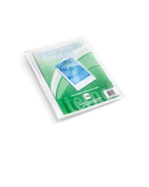 Portalist clear personaliz 30 fogli Plastidea 7112. 8028422571122 7112.
