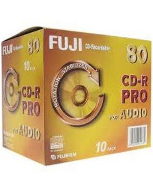 Cd-r audio 80 pro jcase conf 10pz Fujifilm 48174 4902520251831 48174