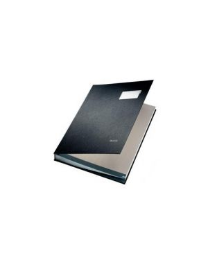 Libro firma nero ppl 20 scomparti 24 x 34 cm leitz 57000195_66905