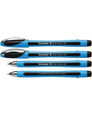 Penna a sfera slider memo xb nero schneider P150201 4004675064202 P150201_70814 by Schneider
