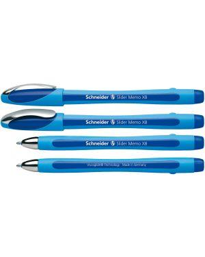 Penna a sfera slider memo xb blu schneider P150203 4004675064240 P150203_70815 by Schneider