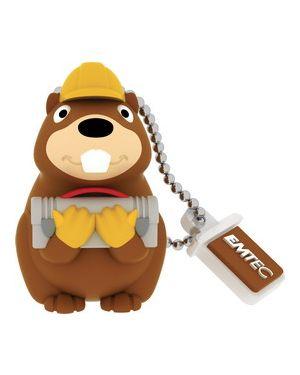 Usb2.0 m338 8g animalitos building beaver ECMMD8GM338_EMTMD8GM338